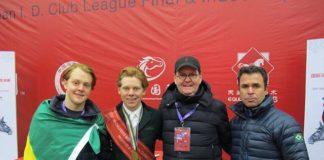 ERRATA Philip Greenlees e Pietra Bizzotto faturam ouro e bronze na Final Mundial FEI Children 2017